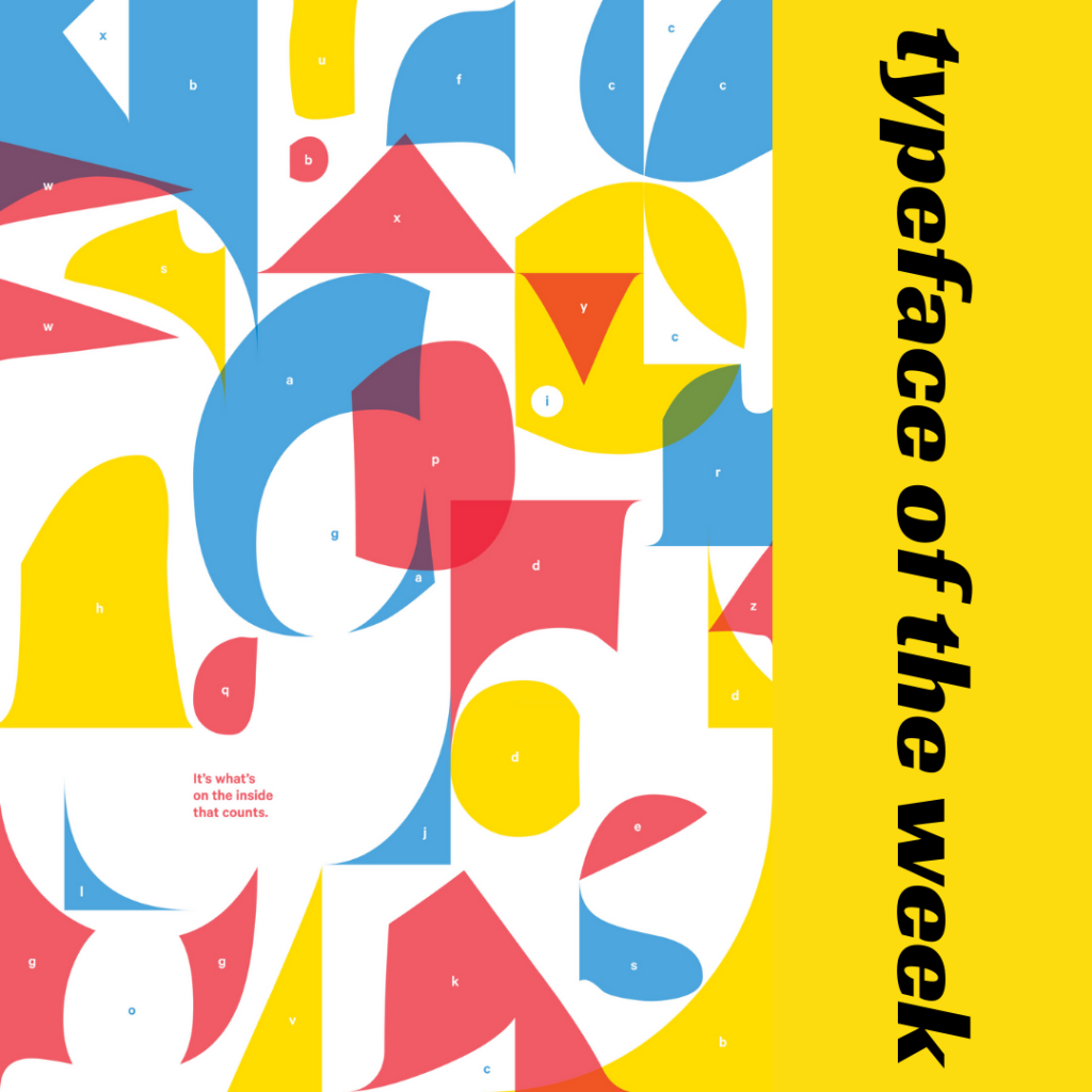 Typeface of the week – Comic Sans  poster