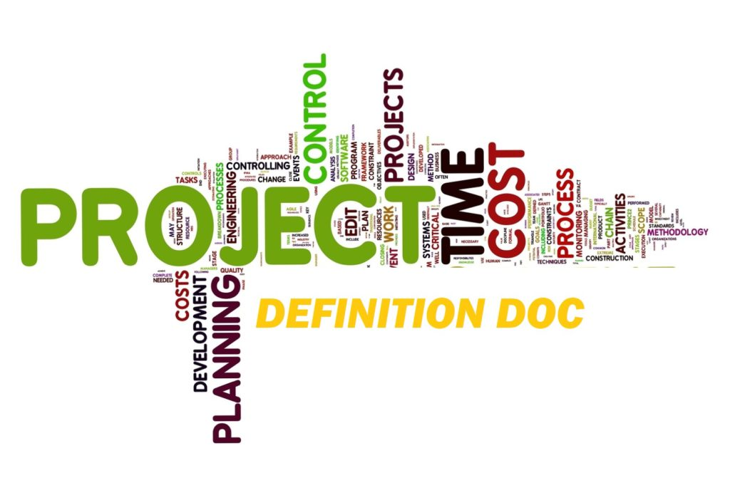 Project documentation – Project Definition Document (PDD)  poster