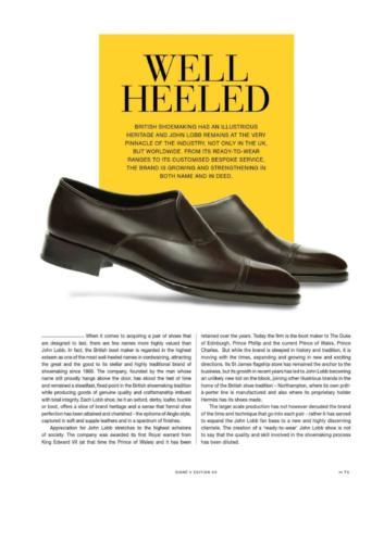 Well-Heeled - John Lobb-page-001